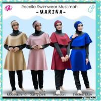 Baju Renang Dewasa Muslimah Syari + Rocella Swimwear Marina Original