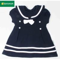 BANANA Dress Baju Bayi Perempuan Sailor Pita