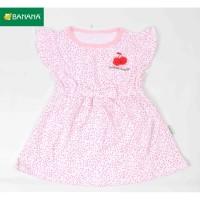 BANANA Dress Baju Bayi Perempuan Two Dott Cerry
