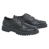 Sepatu Boots Safety Wanita / Docmart LA Magne 36.40 SOKAY - Hitam