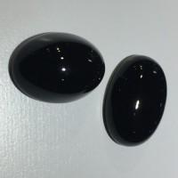Batu Onix Batu Onyx Hitam Size 13 x 18 mm