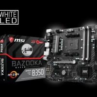 Discount Mainboard Msi B350M Bazooka Dijamin 100% Original
