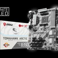 New Sale Msi B350 Tomahawk Arctic Amd Am4 Motherboard Original