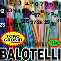 Toko Grosir - Kain Bahan Meteran Baloteli / Ballotelli / Balotelly /