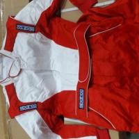 Wearpack SPC Size M - Baju Balap SPC Merah ben Bol