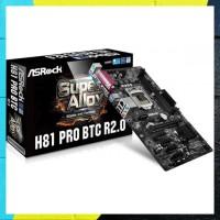 Terbaru Ready Stok Asrock H81 Pro Btc R2.0