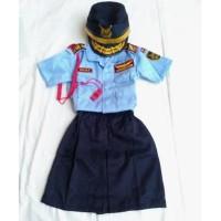 Baju tentara AU (anak perempuan) TNI AU Seragam Tentara Angkatan Udara