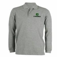 Polo shirt-Tshirt-Kaos Kerah Lengan Panjang CONSINA Terlaris