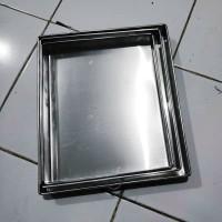 1 Set Loyang Bolu Gulung / Lapis Surabaya isi 3 ukuran Alumunium TEBAL