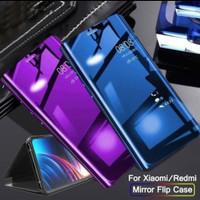 Flip Mirror Case Xiaomi Redmi Mi A1 MiA1 Clear View Standing Cover