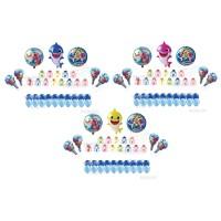 Paket Dekorasi Balon Ulang Tahun / Happy Birthday Tema Baby Shark