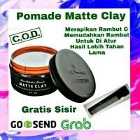 Pomade Matte Clay By Folti Baffi Hair Nutrition Original 100% BPOM