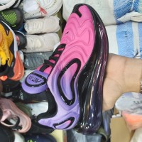 Sepatu Sneakers Nike Air Max 720 Purple Pink Black Women