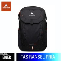 TAS RANSEL EIGER Z-MERIDIAN 30 1F LAPTOP BACKPACK - BLACK 35L