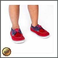 Sepatu Anak Vans Zapato Merah-Biru
