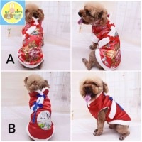 baju imlek anjing dan kucing baju cheongsam anjing kucing IMLEK015