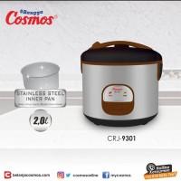 Rice Cooker Magic Com Cosmos CRJ-9301 CRJ9301 CRJ 9301 Kapasitas 2 Lit