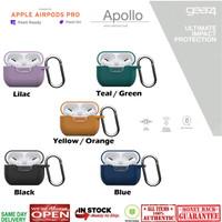 Case Airpods Pro GEAR4 APOLLO Silicone Case Ultra Thin Full Protect - Black