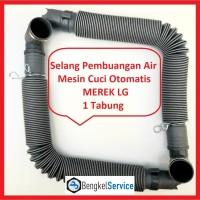 Selang Pembuangan Air Mesin Cuci LG 1 Tabung|Selang Air Mesin Cuci LG