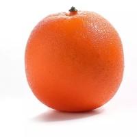 Buah Artificial Import/ Buah hiasan Real Touch- Orange - Orange