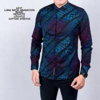 Baju Kemeja Batik Songket Cowok Kemeja Santai Kemeja Casual Pria