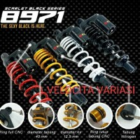 shockbreaker mono shock tabung atas Scarlet black series type
