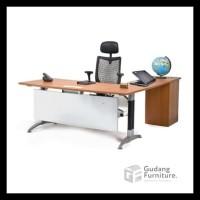 New Meja Kantor Direktur / Meja Kantor Manager Aditech Nfd09I