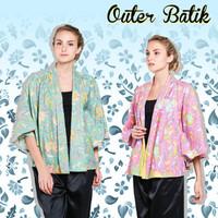Batik N Me Outer Batik | Baju Luaran Batik Wanita