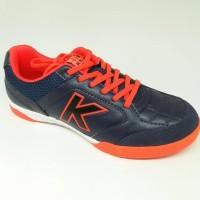 Terlaris Sepatu Futsal Kelme Original Land Precision Navy/Red New 2018