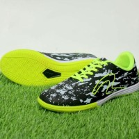 Newproduk Sepatu Futsal Pria Specs Barricada Ultima Hitam Hijau Murah