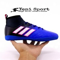 Termurah Sepatu Futsal Anak Adidas Techfit X Abu Hijau Stabilo -
