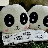 Newproduk Bantal Selimut (Balmut) Lovely Panda Palinghot