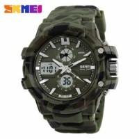 Termurah SKMEI Jam Tangan Sport Pria - AD 0990 Hijau Camouflage