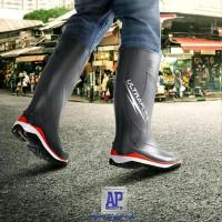 MURAH Sepatu Booth AP Ultraflex Motor Kebun Outdoor Tahan Air