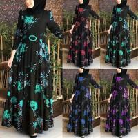 Ladies Women Dress Muslim Evening Wedding Maxi Islamic Arabian Abaya