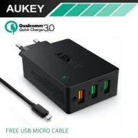 Aukey Charger 3 Ports PA-T14 ( 500063 )