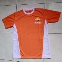 Baju kaos Mekanik orange + Mug Oli Repsol World Champion Lubricants