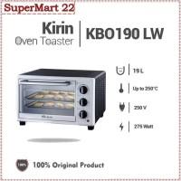KIRIN Oven Toaster Listrik 19L KBO-190-LW