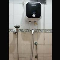 paket water heater 10 L instalasi luar/water heater modena 10 L insta