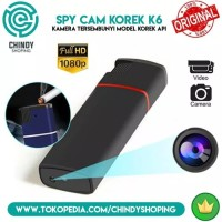 Spy Cam Spy Lighter K6 Full Hd 1080p Kamera Pengintai Model Korek K6