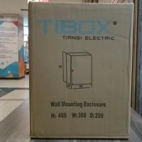 Box Panel Listrik Besi IP65 Tibox 300(w)x400(h)x200(d)