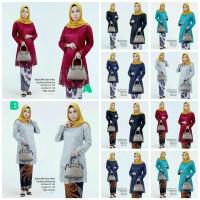Kebaya Burkat Wisuda Modern/Batik Kebaya Seragam Baju Pesta Jumbo
