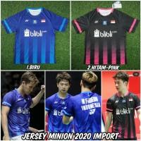 Baju jersey badminton Yonex the minions terbaru 2020