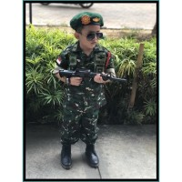 Baju Tentara anak Baju Profesi TNI untuk anak Model PDL TNI AD