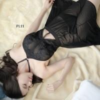 Baju Tidur Dress Seksi SleepWear Sexy Gown Lingerie Premium Wnita PL11