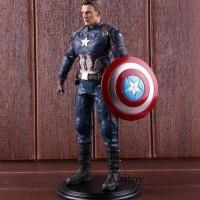 New Action Figure Pvc Model Captain America 3 Civil War Untuk Koleksi