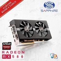 VGA Sapphire Nitro+ Radeon RX 580 Dual 8GB - RX 580 Dual 8 GB DDR5