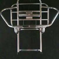 back rack belakang vespa model kupu Tegak berdiri ban s MT5