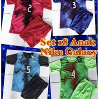 MM-Kaos baju jersey sepak bola dan futsal anak NIKE GALAXY 1 set stel
