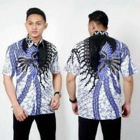 Grosir seragam Kemeja pria / Batik Pria Murah Ukuran M..L...XL..XXL